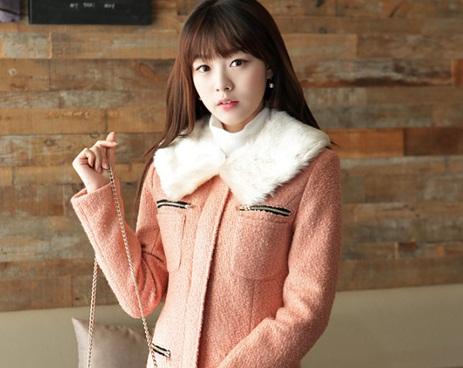 Gợi ý chọn áo khoác lông thời trang đông 2014